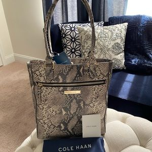 ✨SALE!✨NEW!✨Cole Haan NWT! RARE Exotic Leather Bag
